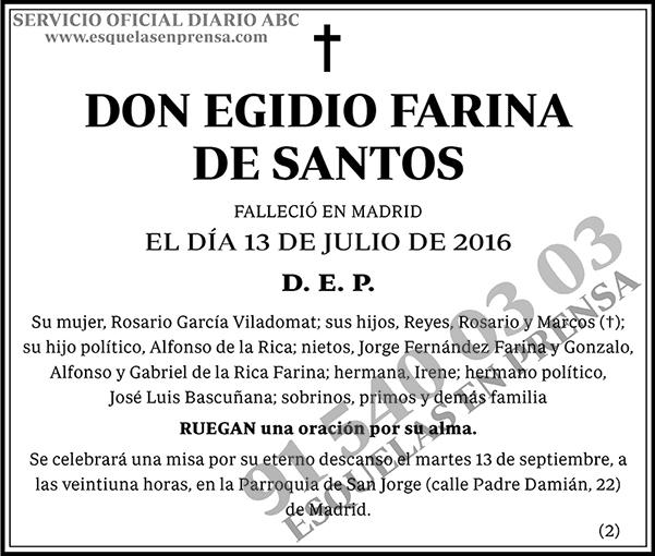 Egidio Farina de Santos